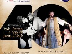 """40 anos da """"Paixão de Cristo"""": começam ensaios e comemorações"""