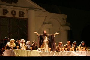 Cesar Kuzma fez o papel de Jesus de 2004 a 2017 (exceto 2014)